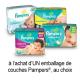 Coupon Rabais Imprimable Sur Pampers De 1.5$