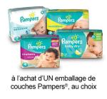 Coupon Rabais A Imprimer Pour Économisez 1.50$ Sur Pampers