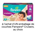 Nouveau Coupon Rabais Pampers A Imprimer De 3$