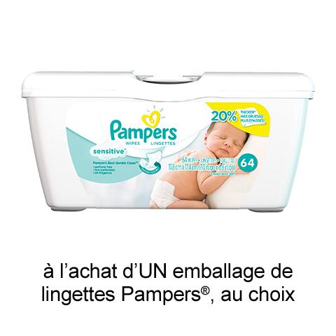 Coupon Rabais A Imprimer Pour Économisez 1$ Sur Pampers
