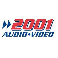 Online 2001 Audio Video flyer