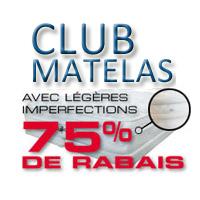 La circulaire de Club Matelas – Matelas Montreal