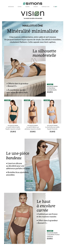 Affluence De Maillots Au Look Captivant