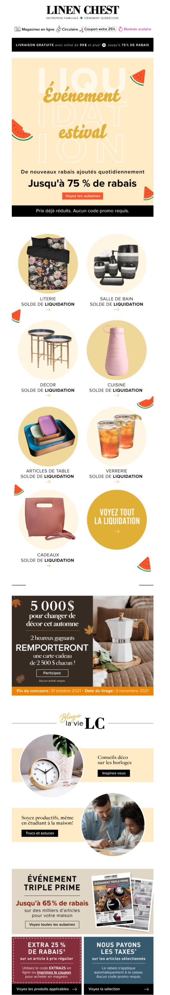 Attention: Ces Offre De Liquidation Sont C H A U D E S
