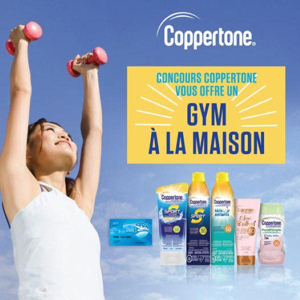 Concours Coppertone Vous Offre Un Gym à La Maison!