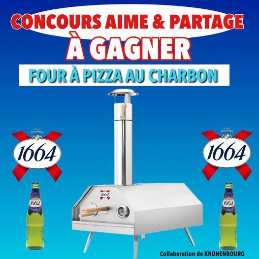 Concours Four à Pizza Au Charbon Kronenbourg