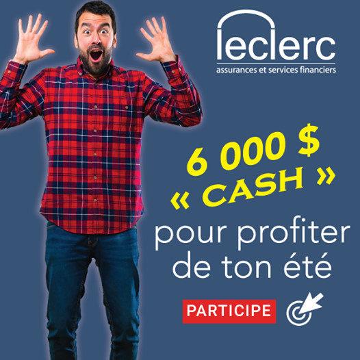 Concours Gagne 6000 $ Cash Pour Profiter De Ton été!