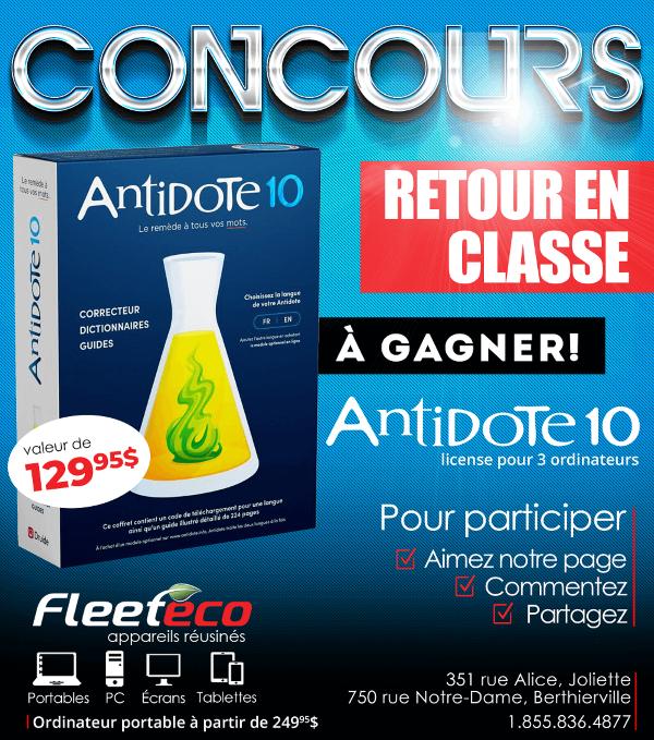 Concours Gagnez Le Correcteur Dictionnaire Antidote 10!