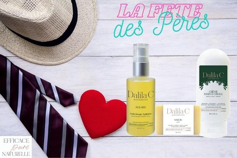 Concours Gagnez Un Coffret De 3 Produits Dalila C à Offrir à Papa!