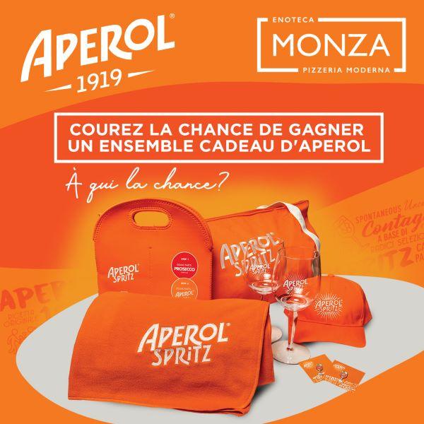 Concours Gagnez Un Ensemble Cadeau Aperol!