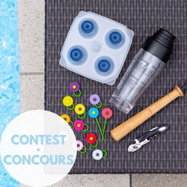 Concours Gagnez Un Ensemble Cadeau Cocktail Offert Par Trudeau!