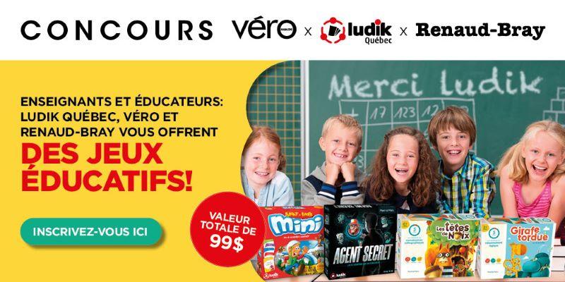 Concours Gagnez Un Ensemble De Jeux éducatifs!