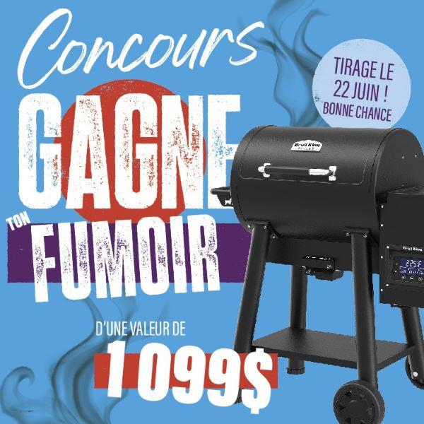Concours Gagnez Un Fumoir Offert Par Gagnon   La Grande Quincaillerie!