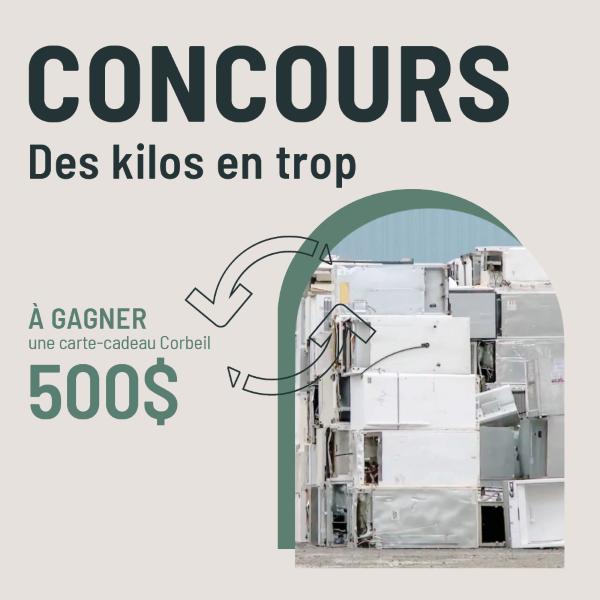 Concours Gagnez Une Carte Cadeau Corbeil D'une Valeur De 500$!