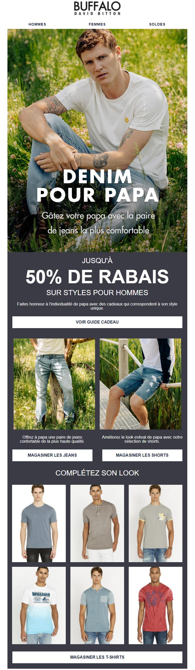 Des Jeans Pour Papa ! Jusqu