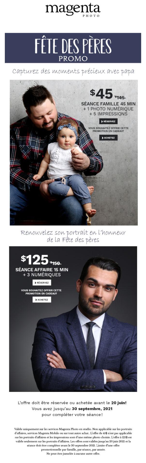 Deux Offres Exclusives Pour La Fête Des Pères   Le Cadeau Parfait!