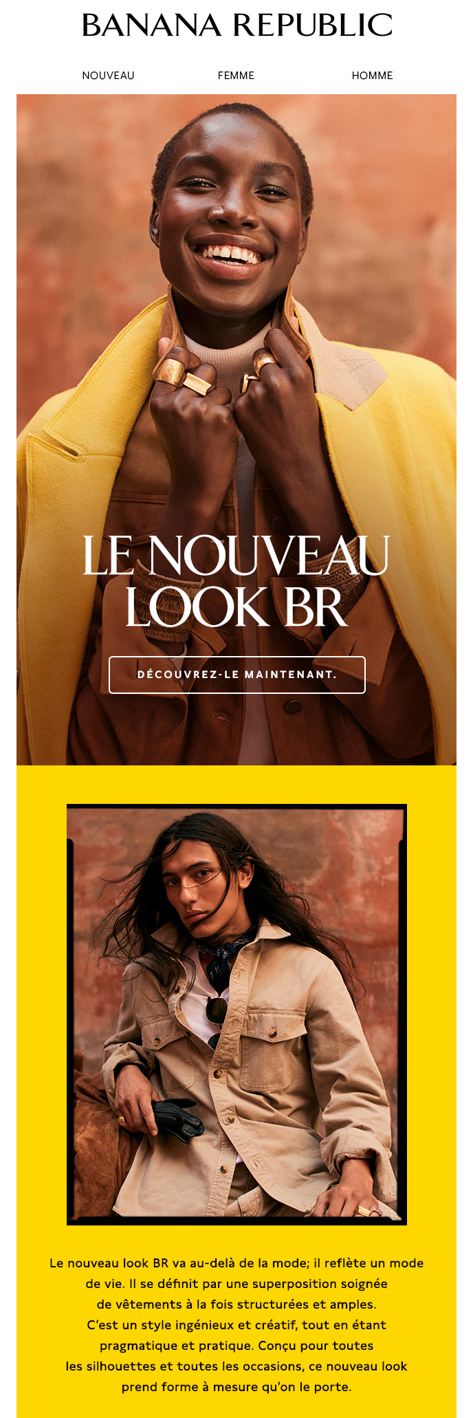 Explorez Le Nouveau Look Br