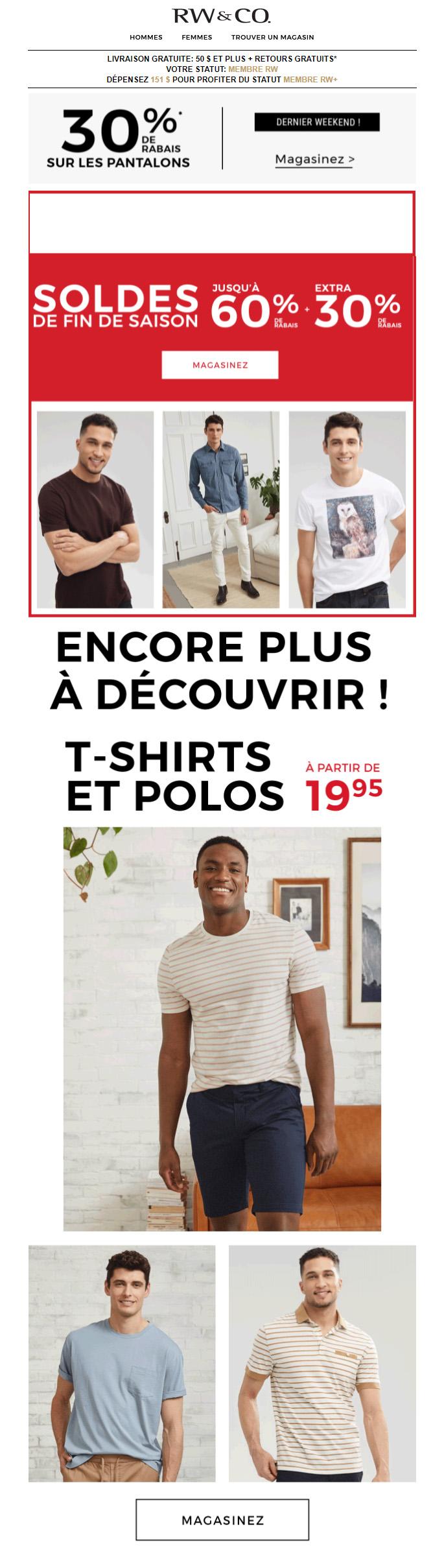 Il Vente Des Rabais ! 60% + 30% Aditionnel