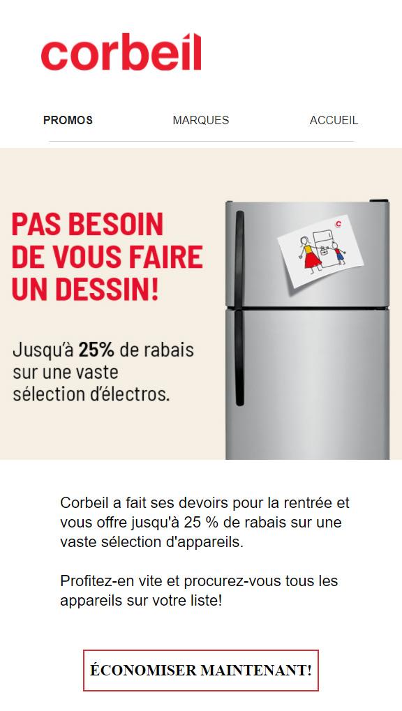 Jusqu'à 25 % De Rabais Pour La Rentrée!