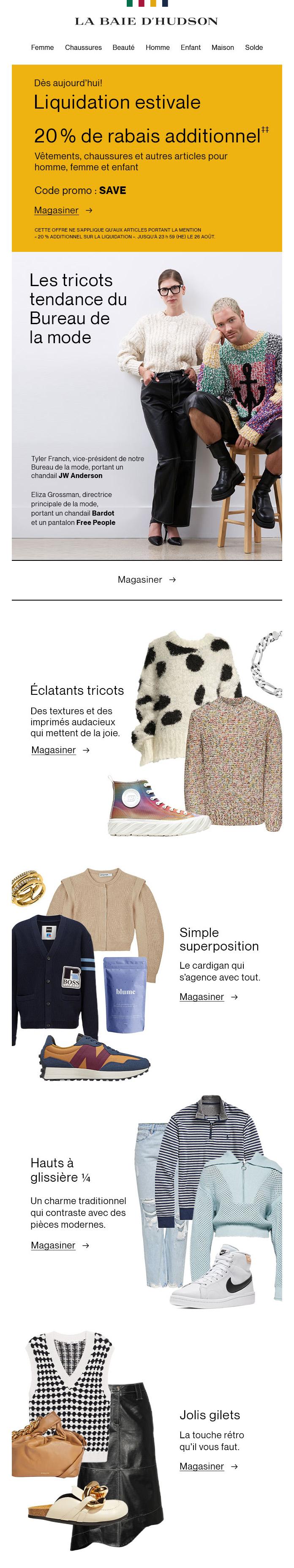 Le Guide Des Tricots Du Bureau De La Mode