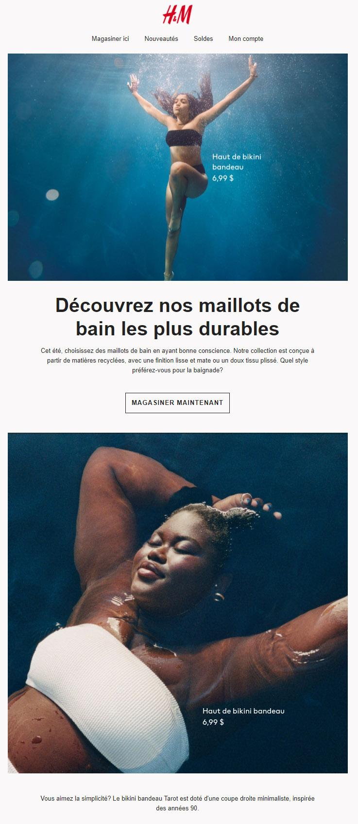 Les Nouveaux Maillots De Bain Sont Sortis!