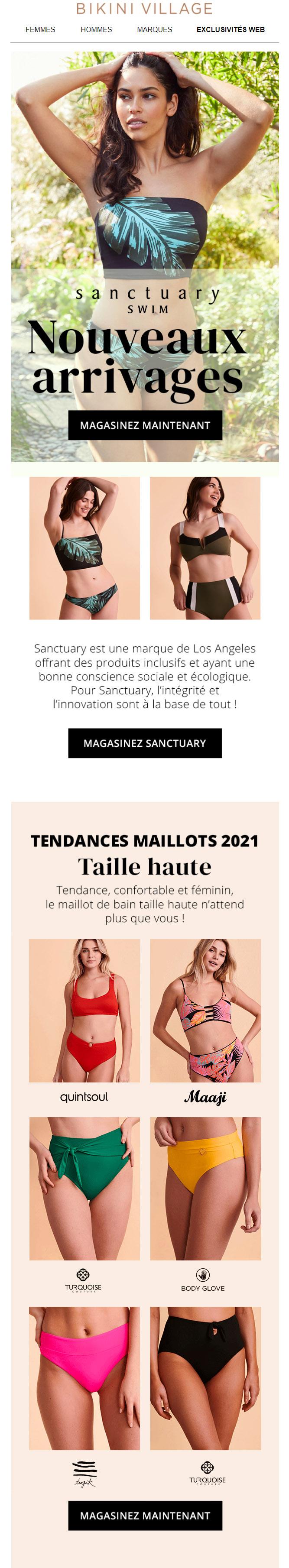 Nouveaux Arrivages : Sanctuary