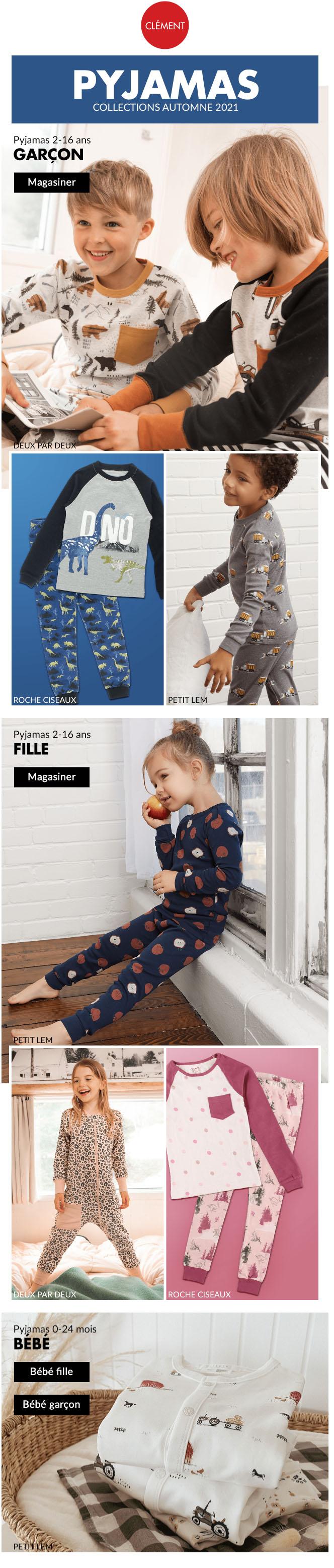 Nouveaux Pyjamas