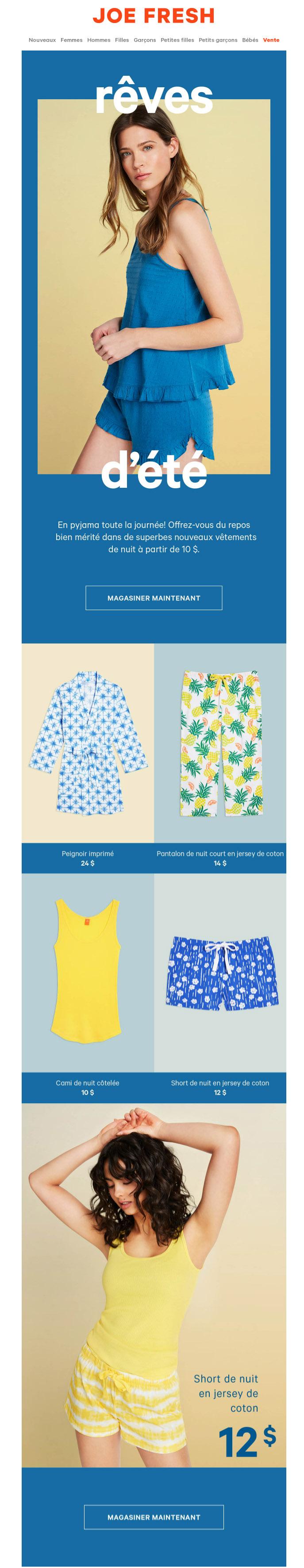 Nouveaux Vêtements De Nuit Pour Femmes