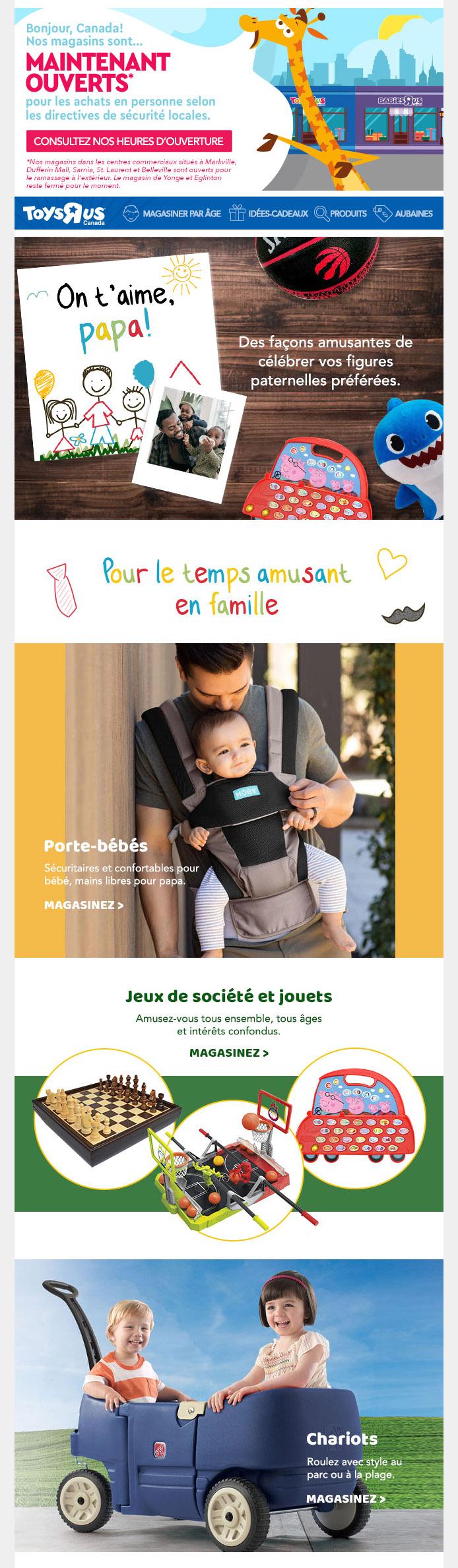 Obtenez De Super Cadeaux Pour Papa!