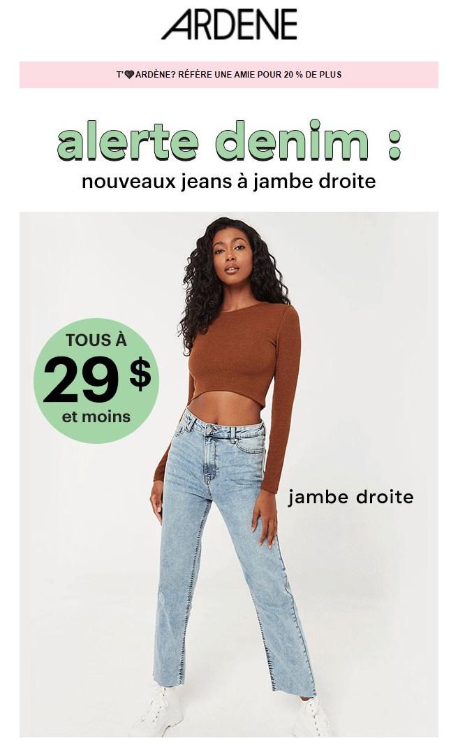 On A Tes Nouveaux Jeans