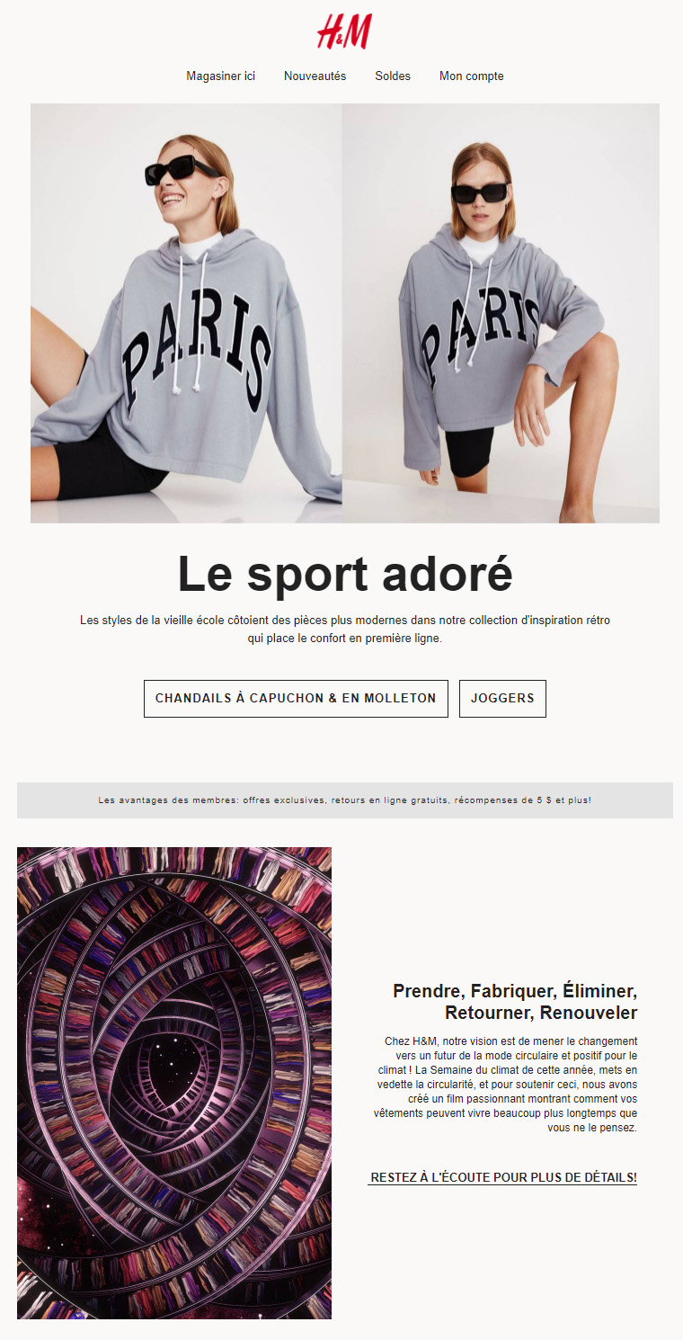 Styles Mi Sport, Mi Rétro...