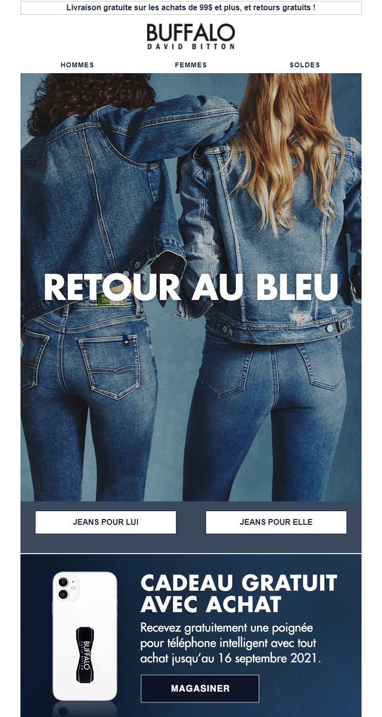 Vos Jeans Préférés Sont à 25 % De Rabais !
