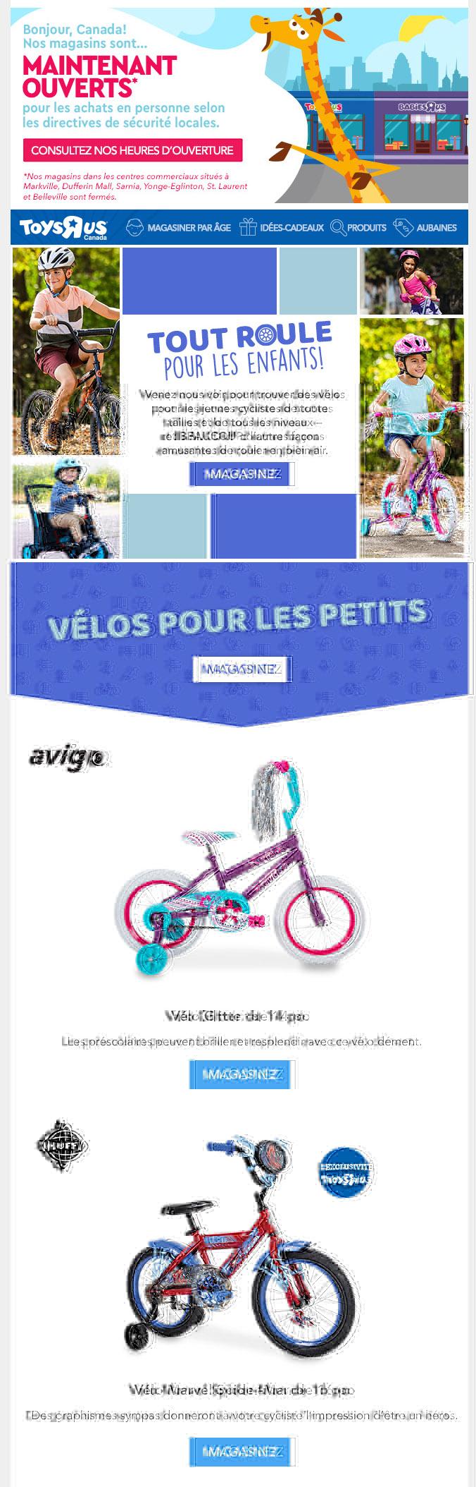 Vous Cherchez Un Vélo? On Est Là Pour Vous!