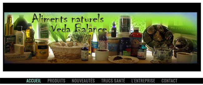 Aliments Naturels Veda Balance En Ligne