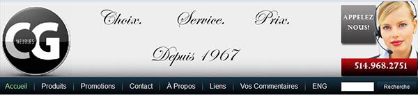 Ameublement Cg Inc. Meubles à Longueuil
