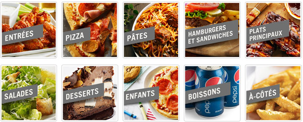 Boston Pizza Restaurant En Ligne