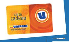 Carte Cadeau Uniprix