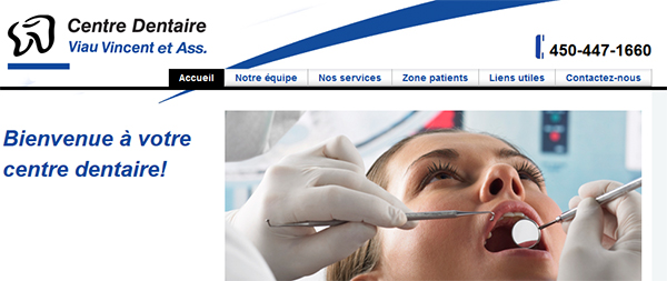 Centre Dentaire Viau Vincent En Ligne