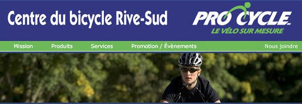 Centre Du Bicycle Rive Sud