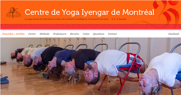 Centre Yoga Iyengar En Ligne