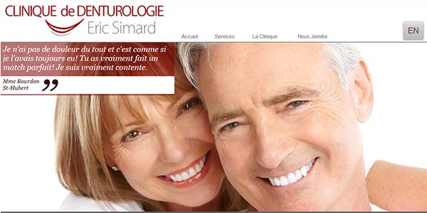 Clinique De Denturologie éric Simard En Ligne