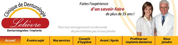 Clinique De Denturologie Lelièvre En Ligne