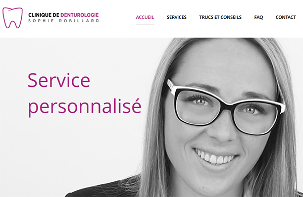 Clinique De Denturologie Sophie Robillard En Ligne