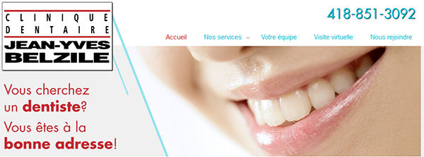 Clinique Dentaire Du Docteur Jean Yves Belzile En Ligne