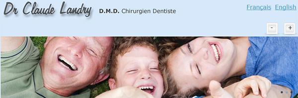 Clinique Dentaire Du Dr Claude Landry En Ligne
