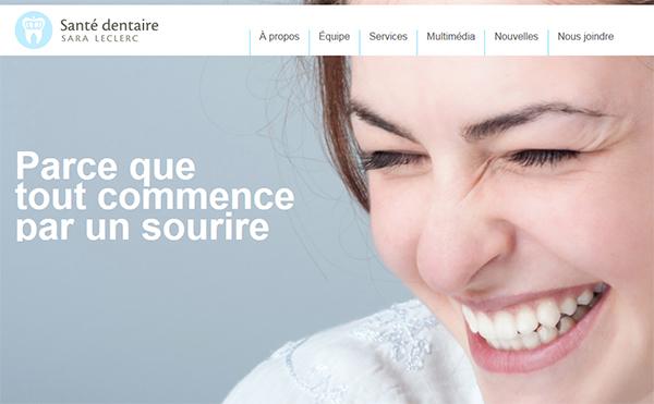 Clinique Santé Dentaire Sara Leclerc En Ligne