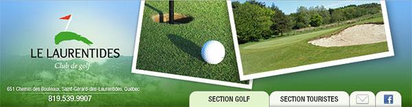 Club De Golf Les Laurentides En Ligne