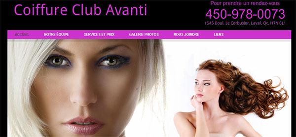 Coiffure Club Avanti En Ligne