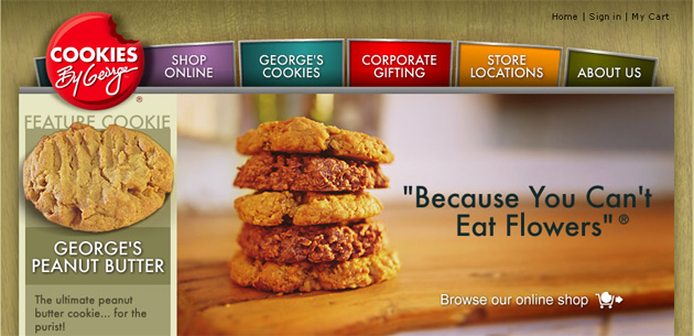 Cookies By George Online Store