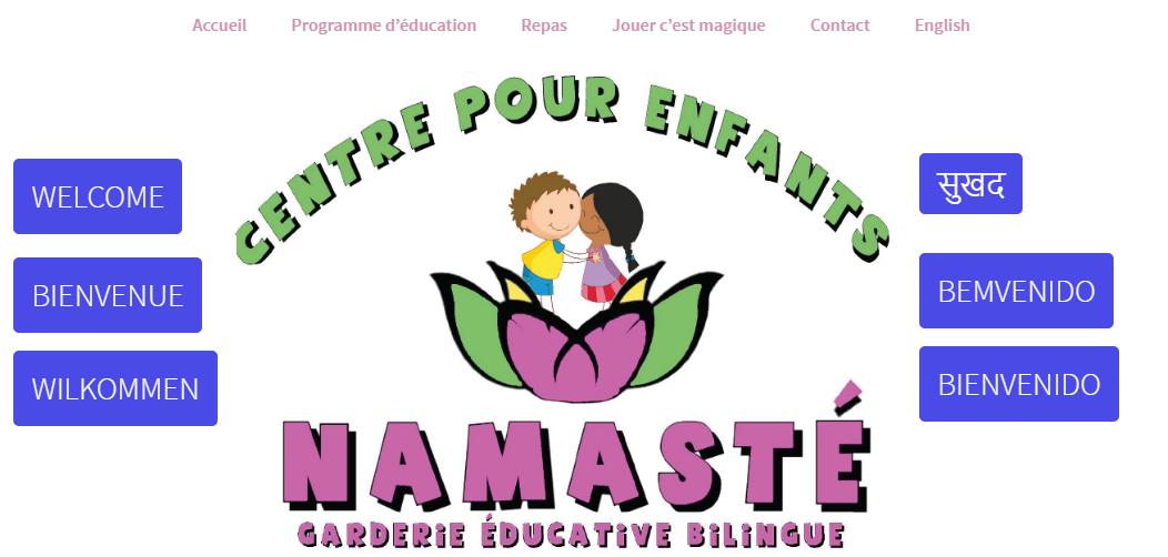 Cpe Namasté Garderie éducative Bilingue En Ligne